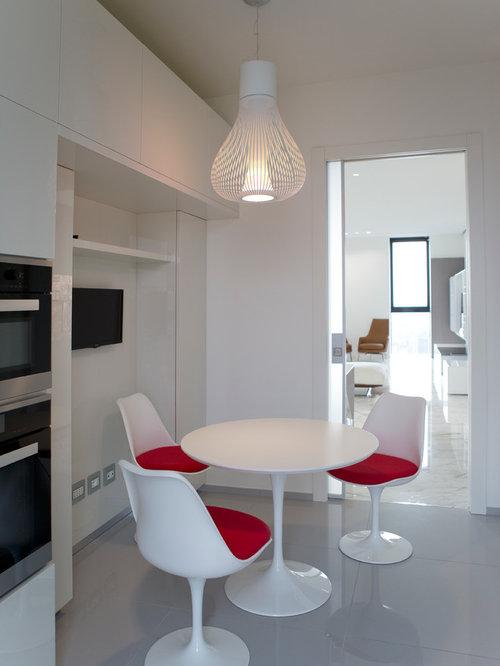 Sale da pranzo sala da pranzo moderna foto e idee design for Interni case minimaliste