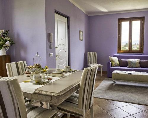Foto e idee per arredare casa shabby chic style - Sala da pranzo shabby chic ...