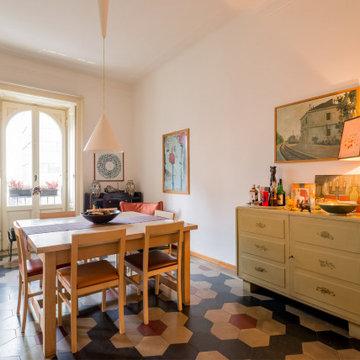 Appartamento tra passato e presente di Milano