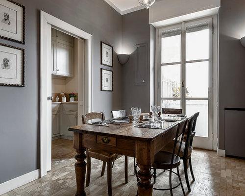 Sala da pranzo classica foto idee arredamento - Colori pareti sala da pranzo ...