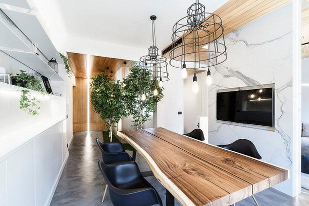 Contemporaneo Sala da Pranzo by Brain Factory - Architecture & Design