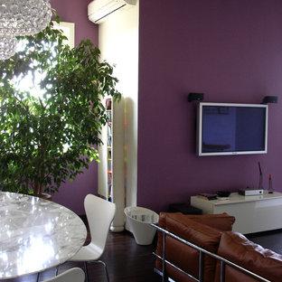 Modern dining room in Milan.