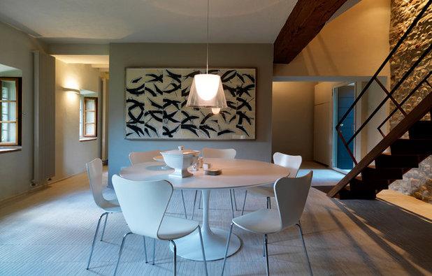 Contemporaneo Sala da Pranzo by Luca Rolla e Alberto Bertini