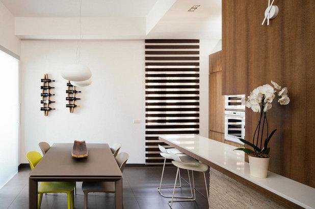 Contemporaneo Sala da Pranzo by manuarino architettura design comunicazione.
