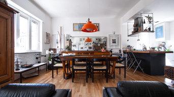 Casa-atelier d'artista a Como   100 mq