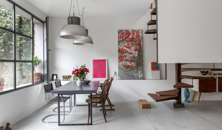 Houzz Tour: Italian Auto Shop Fulfills Its Residential Potential