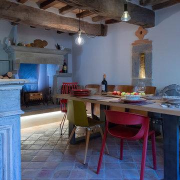 Casa di pietra nella Valtiberina Toscana
