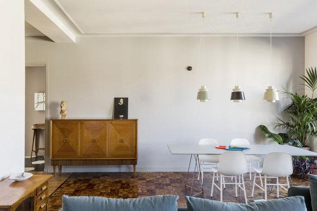 Contemporary Dining Room by UNDUO Laboratorio di architettura