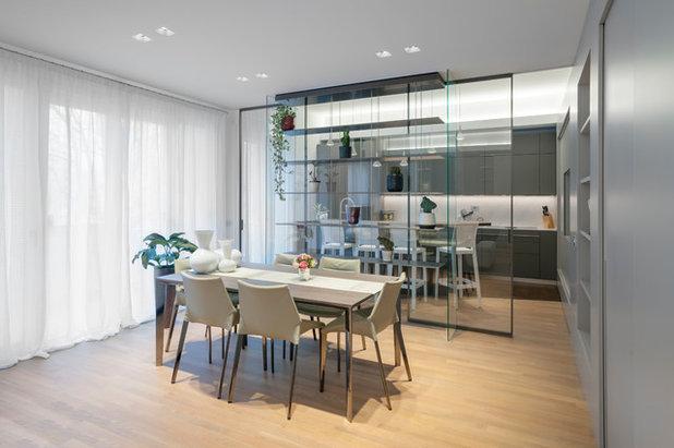 Moderno Sala da Pranzo by Proma