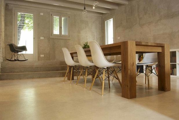 Industriale Sala da Pranzo by Studio di Architettura DISEGNO