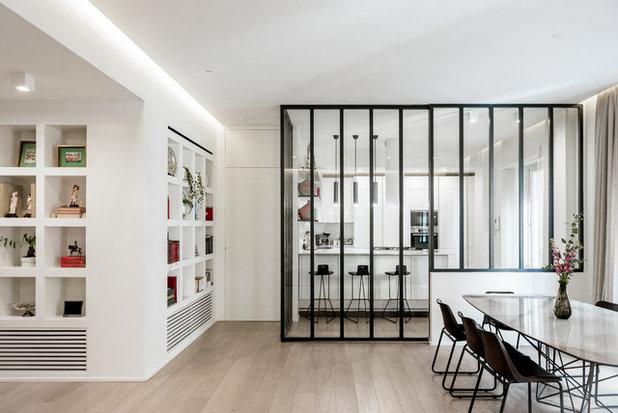 Contemporary Dining Room by Giulia Natalia Comito