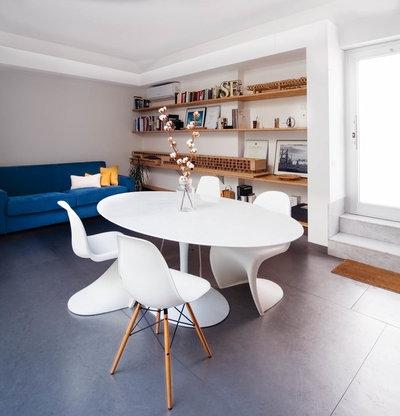 Contemporaneo Sala da Pranzo by manuarino_architettura+design