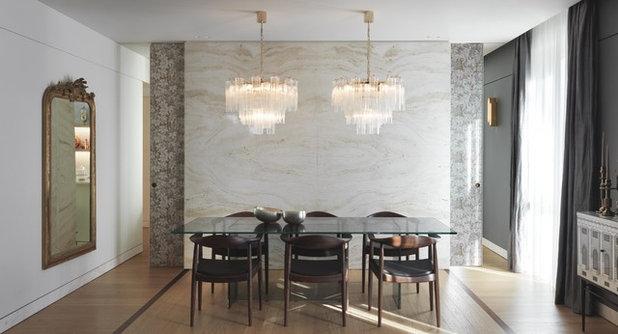 Contemporary Dining Room Contemporaneo Sala Da Pranzo