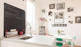 cucina con lavello ad isola