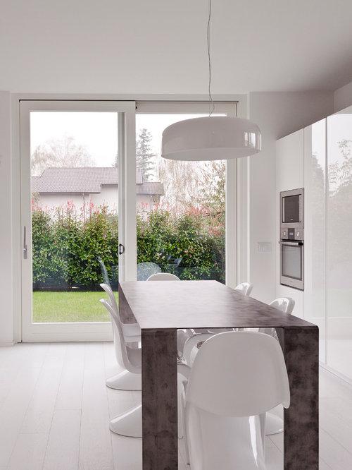 Foto e idee per sale da pranzo sala da pranzo contemporanea di medie dimensioni - Sale da pranzo contemporanee ...