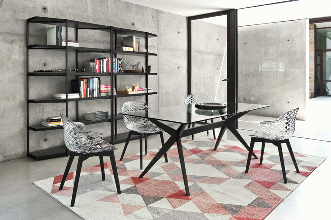 Contemporary Dining Room by Calligaris