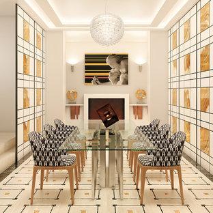 Immagine di una sala da pranzo design