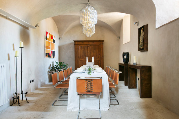 Eclectic Dining Room By Francesca Pagliai Studio Fotografico