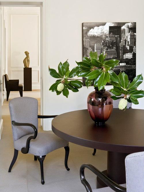 Sala da pranzo classica foto idee arredamento for Colori pareti sala da pranzo