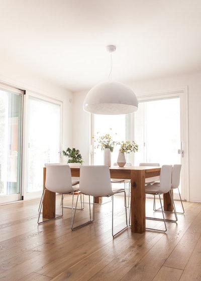 I consigli dei pro per non sbagliare l illuminazione stanza per stanza - Lampade sopra tavolo da pranzo ...