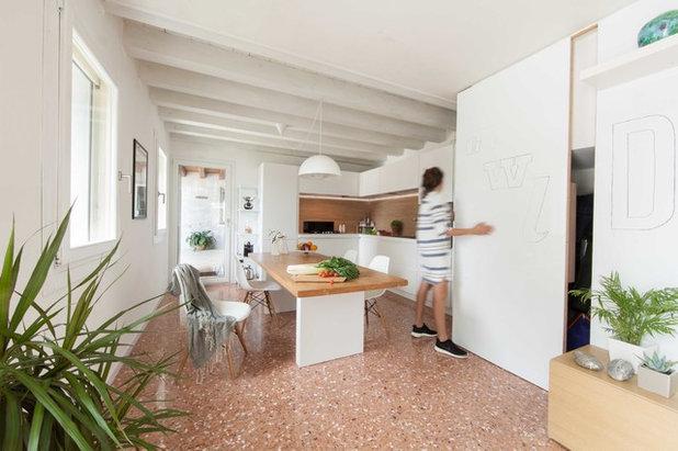 Scandinavo Sala da Pranzo by Didonè Comacchio Architects