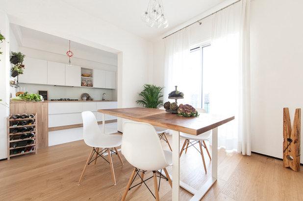 Contemporaneo Sala da Pranzo by Didonè Comacchio Architects