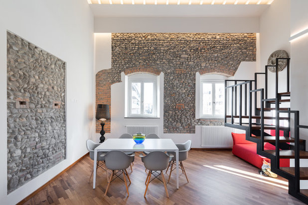 Contemporaneo Sala da Pranzo by B+P architetti