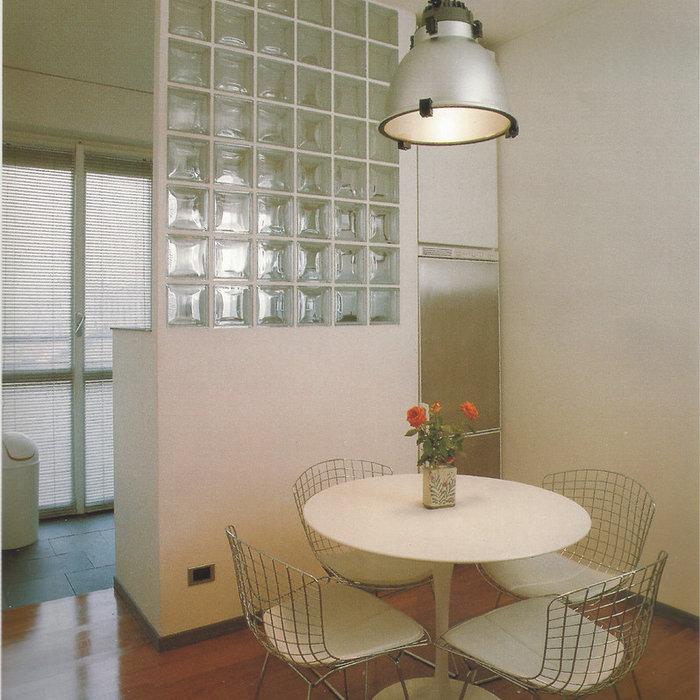Luminosità e funzionalità con muri tondi