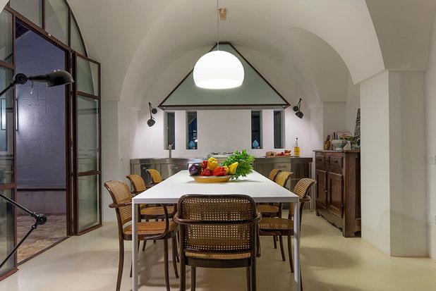Mediterranean Dining Room by Studio Talent