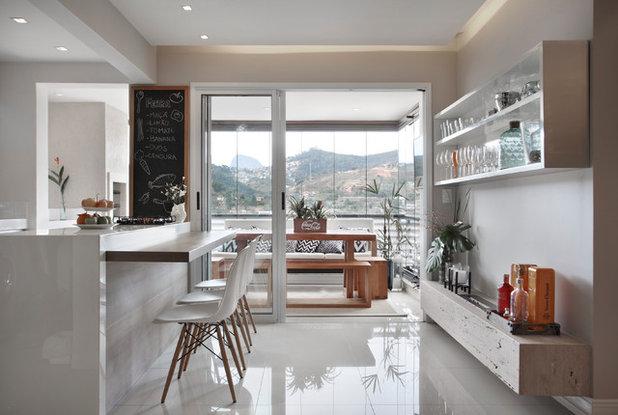Moderno Sala da Pranzo by Mariana Martini