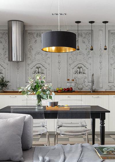 Современный Столовая by K-studio Interior Design