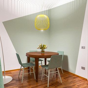Nuova casa e la ricerca di uno  stile fresco ed originale - Progetto in corso