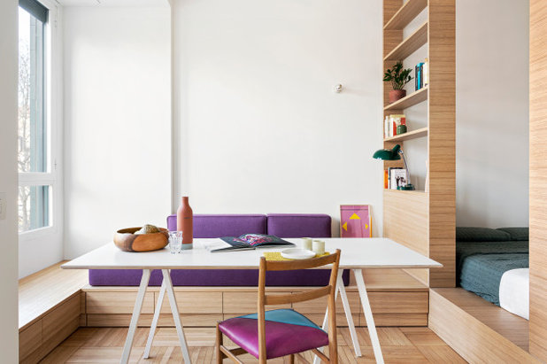 Contemporary Dining Room by Tommaso Giunchi