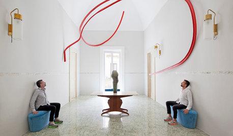 Houzz Tour: A Paris House That Is A Home & An Art Gallery