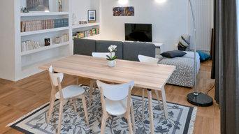 Relooking, appartamento Trieste- Salone / 30 mq