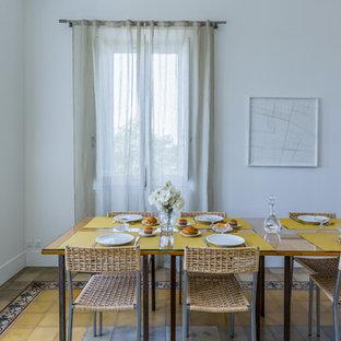 Foto di una sala da pranzo country