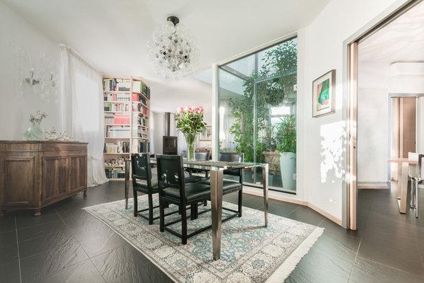 Contemporaneo Sala da Pranzo by Prima Impressione - Home Staging