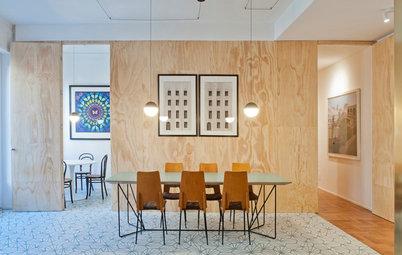 Houzz Tour: Modern retrokänsla i elegant Milano-lägenhet