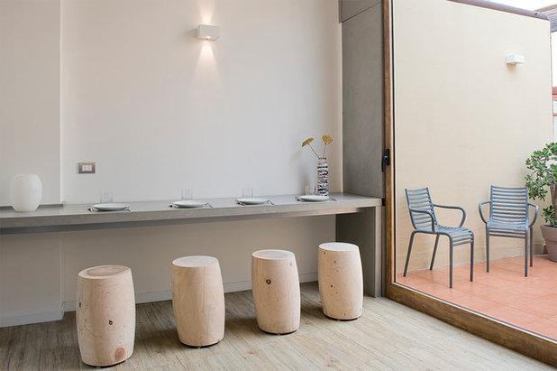 Contemporain Salle à Manger by Renato Arrigo