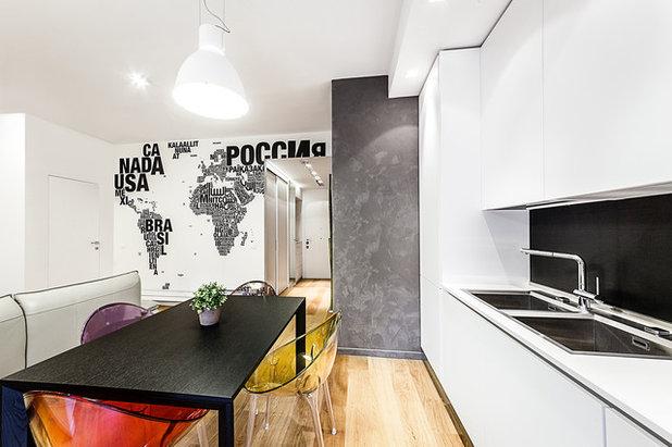 40 40 mq i segreti per rendere funzionali due mini piani for Piccoli piani di casa urbana