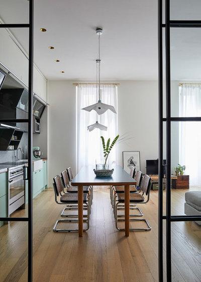 Contemporaneo Sala da Pranzo by Alhambretto Design Studio