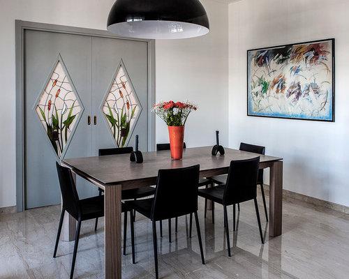 Foto e idee per sale da pranzo sala da pranzo moderna - Sale da pranzo moderne ...