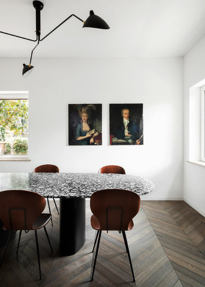 Modern Dining Room by MOHAMED KEILANI