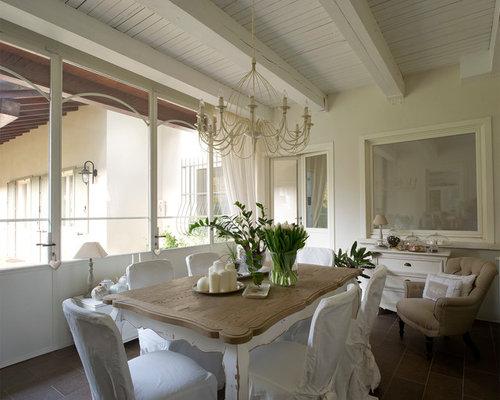 Foto e idee per arredare casa shabby chic style italia - Sala da pranzo shabby chic ...
