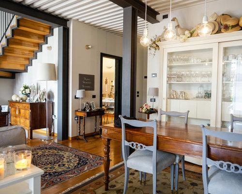 Sala da pranzo in campagna - Foto, Idee, Arredamento