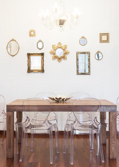 Come realizzare una sala da pranzo classica che guarda al futuro