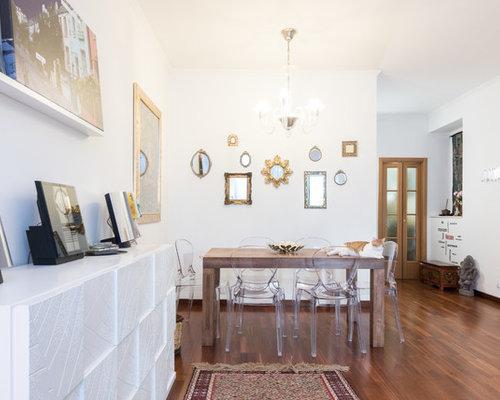 Foto e idee per arredare casa shabby chic style italia for Case senza sale da pranzo