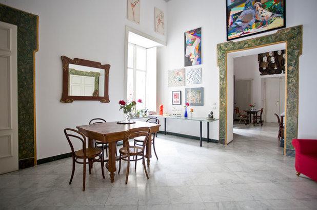 My houzz barocco napoletano per un t con gli artisti for Sala da pranzo barocco piemontese