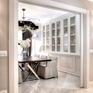 Dining room - contemporary dining room idea in Other