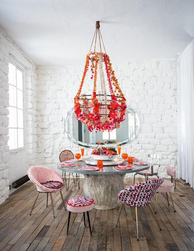 Contemporary Dining Room by loft d'osiris